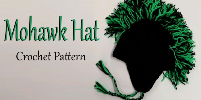 Mohawk Hat Crochet Pattern